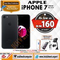 Apple-iPhone-7-(Black---128GB)-36bulan